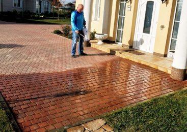 Гидрофобизатор для тротуарной плитки: виды составов и преимущество использования