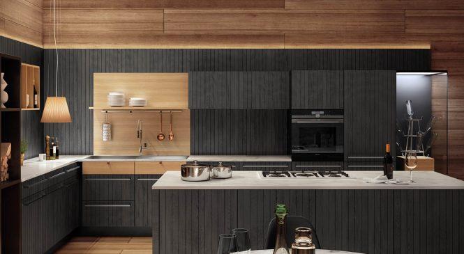 Подбор мебели и оформление интерьера кухни в загородном доме