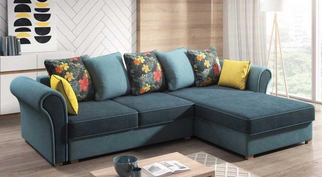 Особенности использования угловых диванов в интерьере жилого помещения