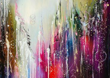 Картины в стиле абстракция в интерьере
