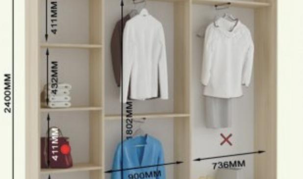 Как выбрать дверь для шкафа