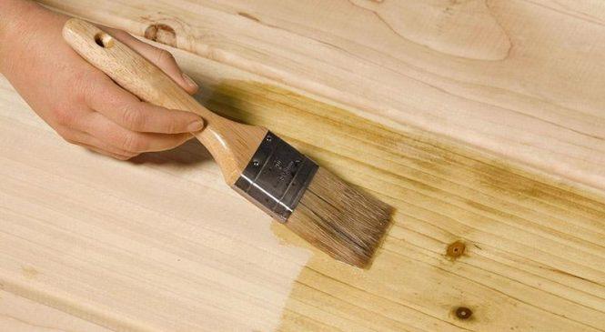 Правила покраски деревянных поверхностей