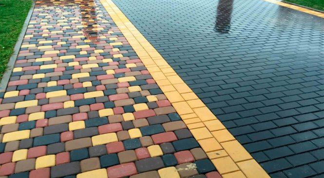 О составе и производстве тротуарной плитки