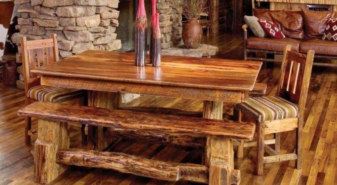 О мебели в интерьере кантри
