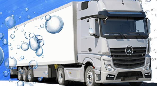 Санитарная обработка и химчистка грузовиков