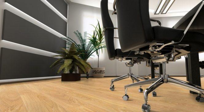 Как правильно выбрать ламинат в офис?
