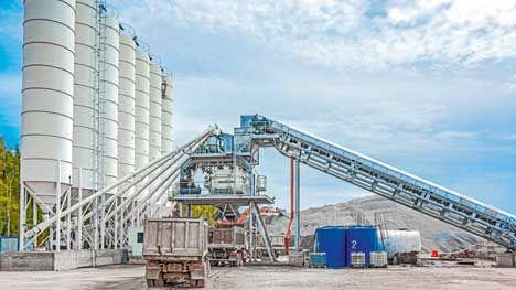 Преимущества мобильных бетонных заводов