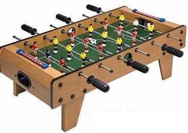 О выборе настольного футбола